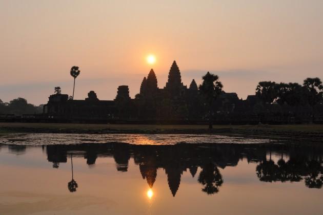 Mars 2015, Siem Reap , Angkor Wat